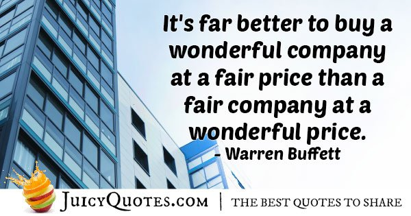 Investment Value Quote