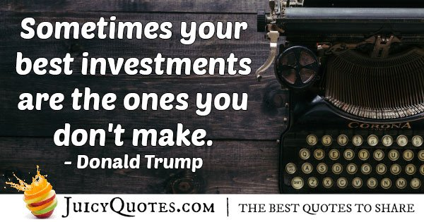 Best Investments Quote