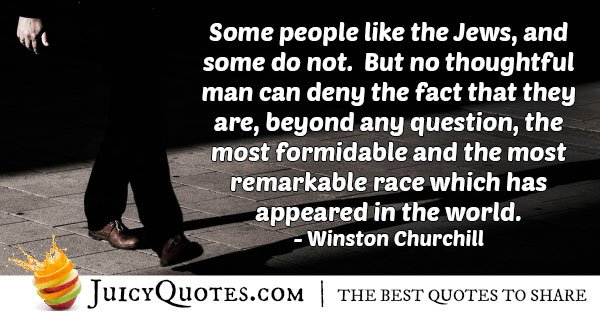 The Formidable Judaism Quote