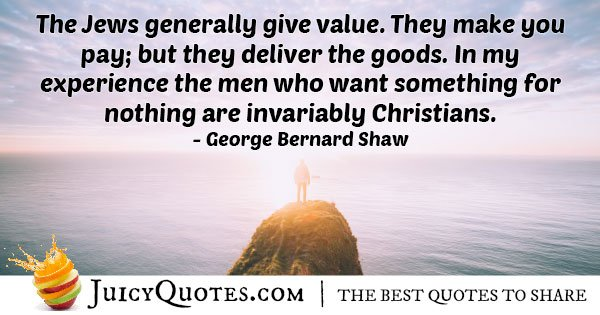 Judaism Give Value Quote