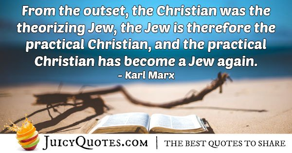 Christianity and Judaism Quote