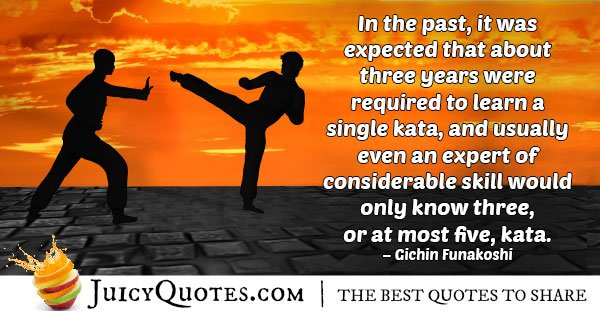 Learn Karate Quote