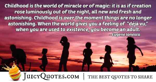 Kids World Of Magic Quote