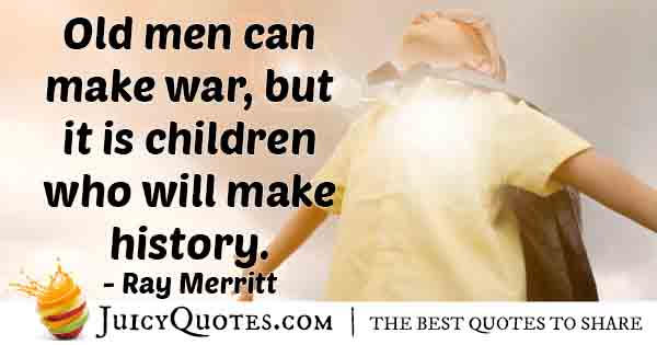 Children Make History Quote