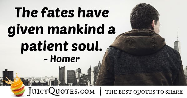 Given Mankind Quote