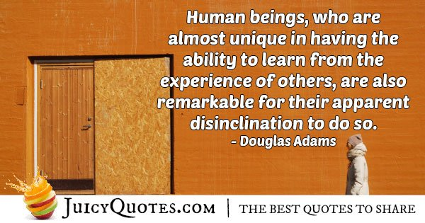 Mankind Ability Quote