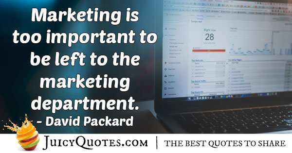 Left To Marketing Quote