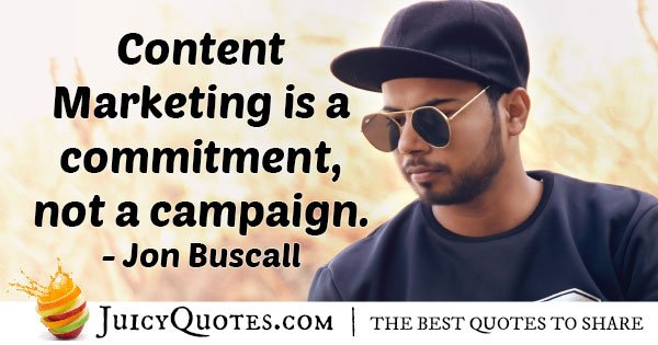 Marketing Commitment Quote