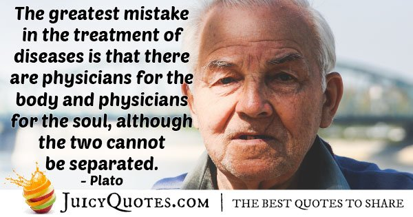 Medicine and Physicians Quote