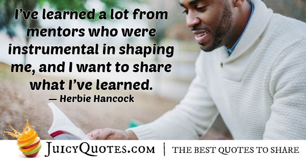 Share From Mentors Quote