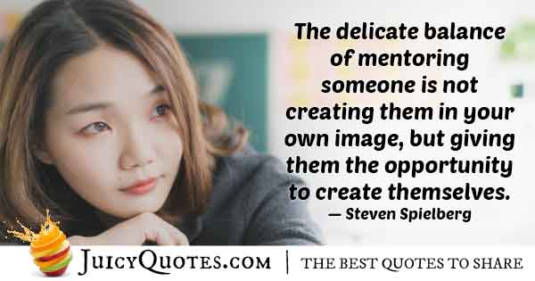 Mentor Giving Opportunity Quote