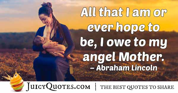 Angel Mom Quote