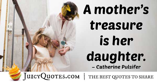 Mom's Treasure Quote