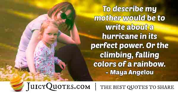 Mom Of Perfect Power Quote