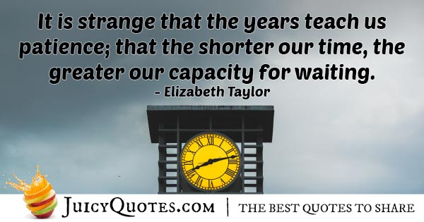 Capacity For Waiting Quote
