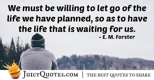 The Life That's Waiting Quote