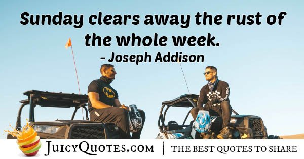 Weekend Clears Rust Quote
