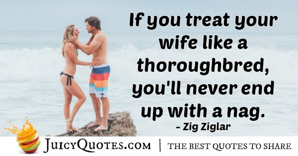 Wife Like a Thoroughbred Quote