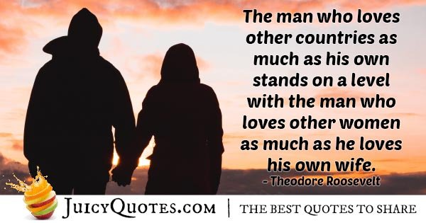 Loves Other Woman And Wife Quote