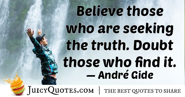 Seeking Truth Quote