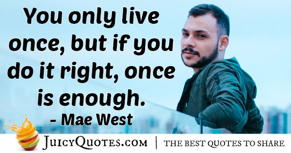 Mae West Quotes With Picture Quotes