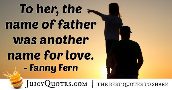 Love Fathers Quote