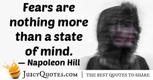 Fear In Mind Quote
