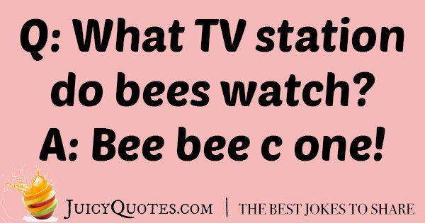 Be Watching TV Joke
