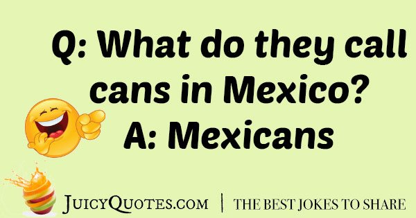 Best Mexican Joke