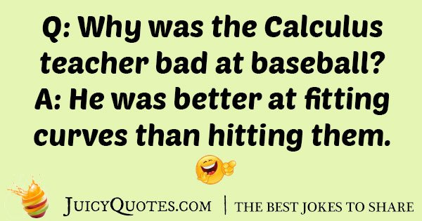 Funny Calculus Teacher Joke
