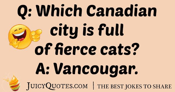 Canadian City Joke