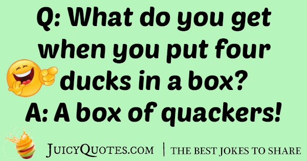 Four Ducks Joke