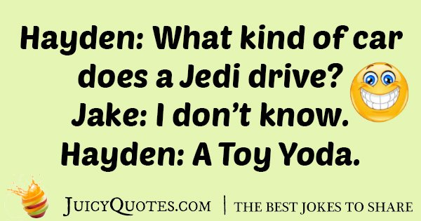 Starwars Car Joke