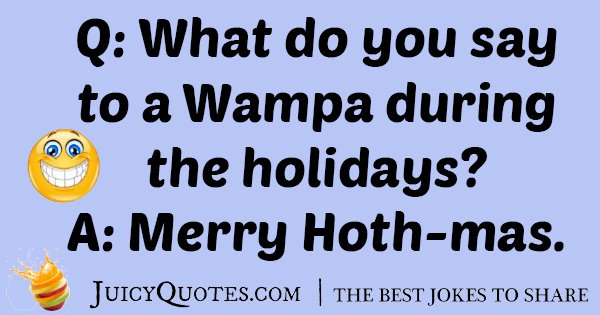 Star Wars Christamas Wampa