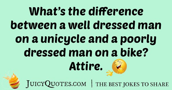 Dressed Man Joke