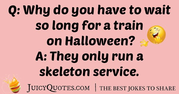 Halloween Train Joke