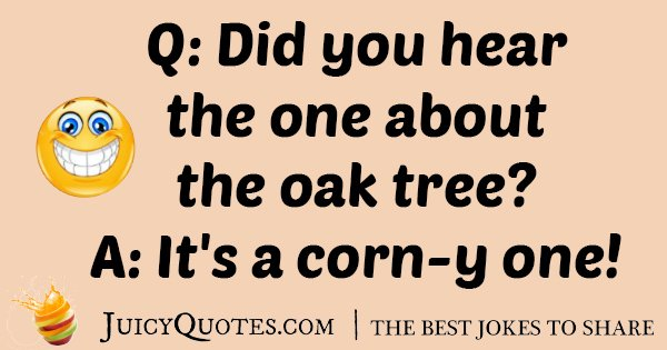 Oak Tree Joke