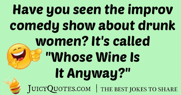 Comedy Wine Joke