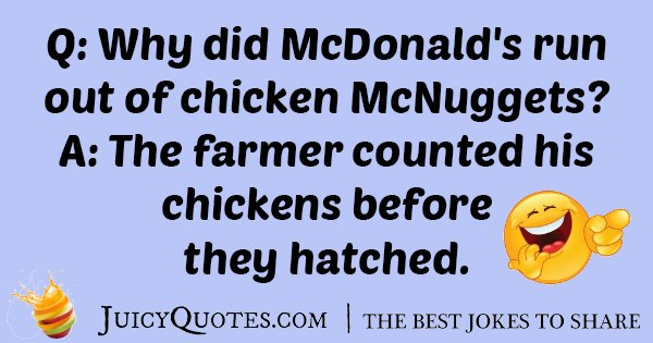 Chicken McNuggets Joke