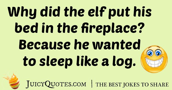 Elf Bed Joke