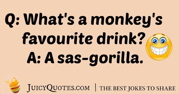 Gorilla Favorite Joke
