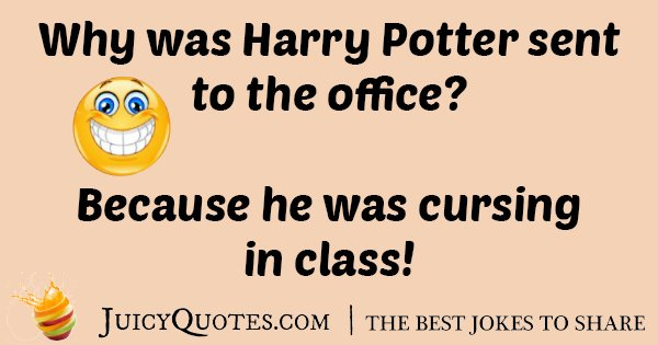 Harry Potter In Class Joke