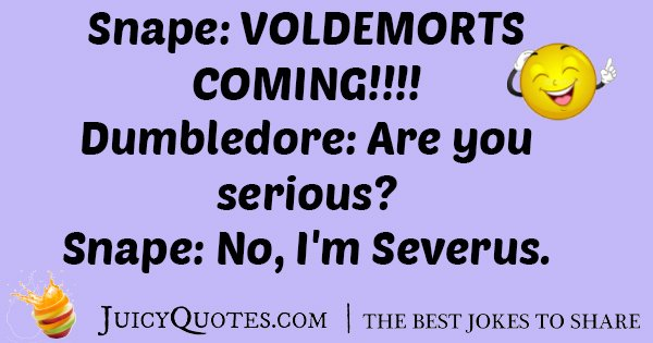 Voldemort Is Coming Joke