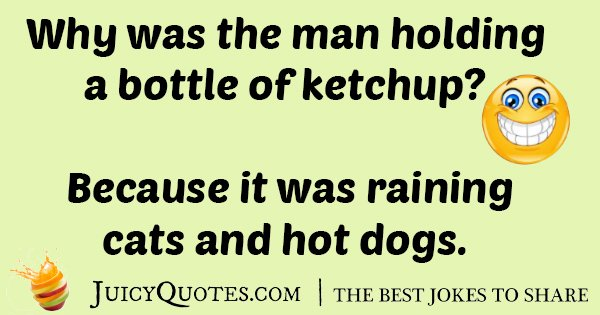 Bottle Of Ketchup Joke