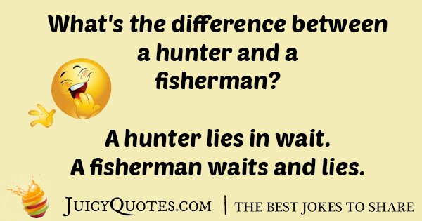 Hunter And Fisherman Joke
