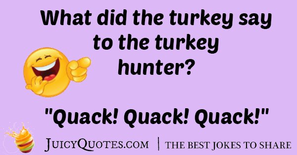 Turkey Hunter Joke