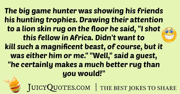 Hunting Trophies Joke