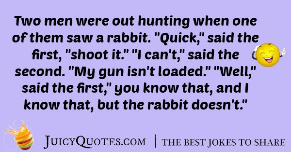 Hunting Rabbit Joke