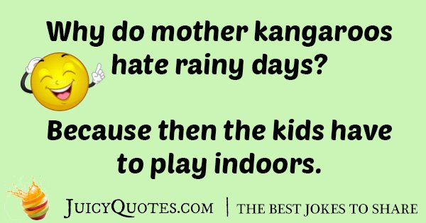 Mother Kangaroo Joke