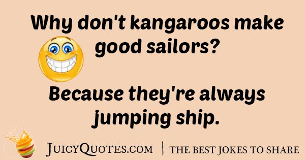 Kangaroo Sailor Joke